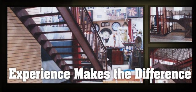 The Difference is Experience | Stairs & railings