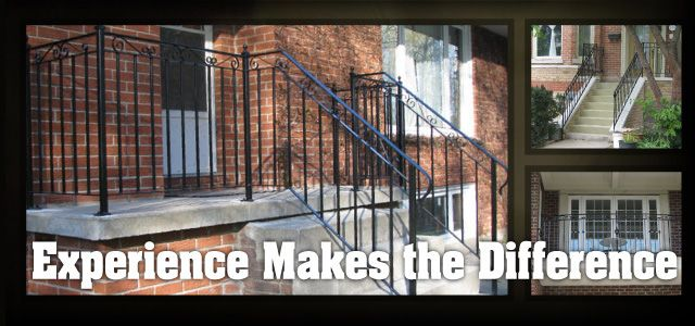 The Difference is Experience | Patio railings