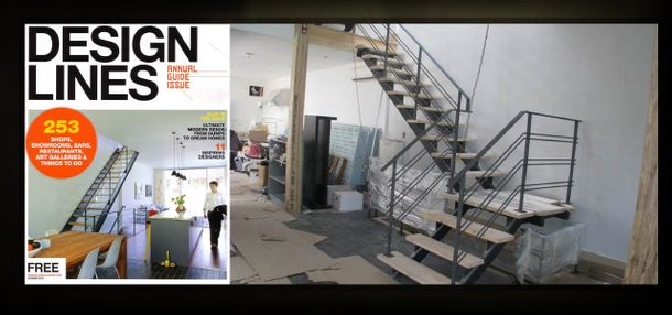 Magazine Cover, Stair Set