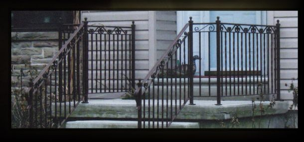 Entry Iron Railing