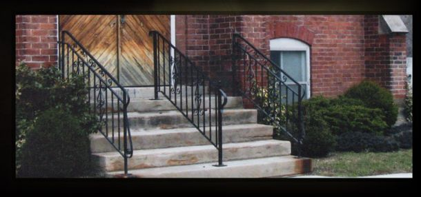 Church Iron Railing